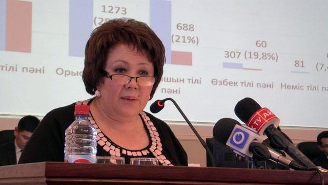 Балқия Көмекбаева, Облыстық тілдерді дамыту басқармасының бастығы
