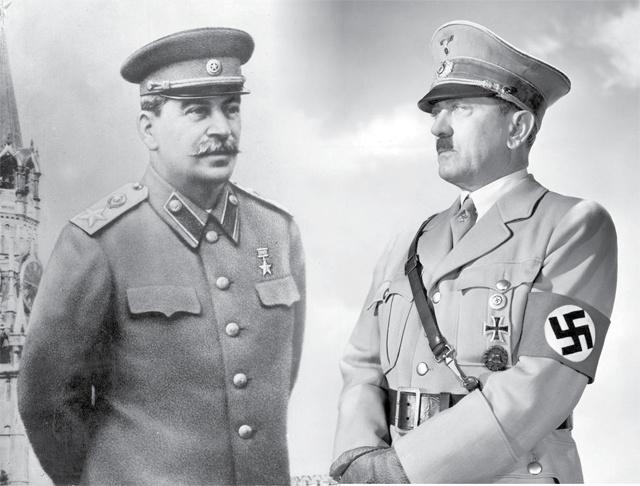 Сталин мен Гитлер кездескен бе?
