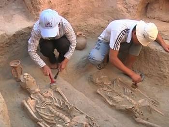 Екі мың жыл бұрынғы қорым табылды