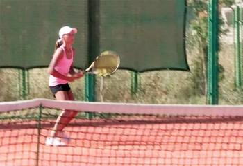 Ашылғанына жыл толмаған Халықаралық теннис орталығында 14 жасқа дейінгі жеткіншектер арасында Қазақстанның жазғы чемпионаты болды