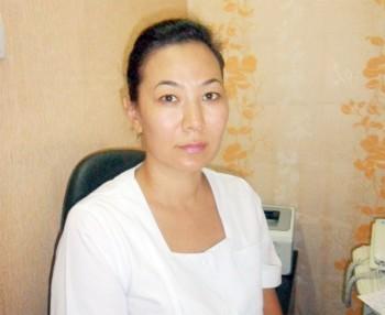 Облыстық тері-венеро-логиялық диспансерінің дерматовенеролог-дәрігері Ғалия Құдабаева