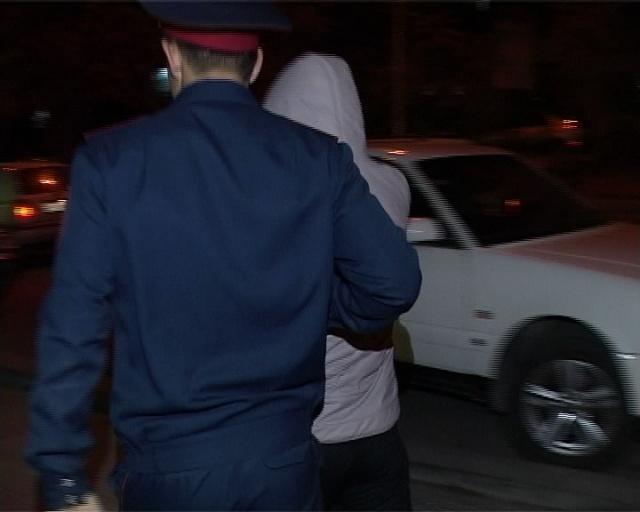 Анықталған жеткіншек полиция бөліміне жеткізілді