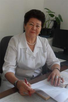 Шымкент қалалық №2 балалар емханасына бөлім меңгерушісі Мәнсия Кабулова