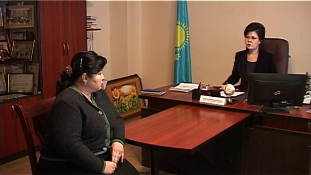 Сынақты қалалық білім бөлімінің басшысы Жанат Тажиева қабылдады