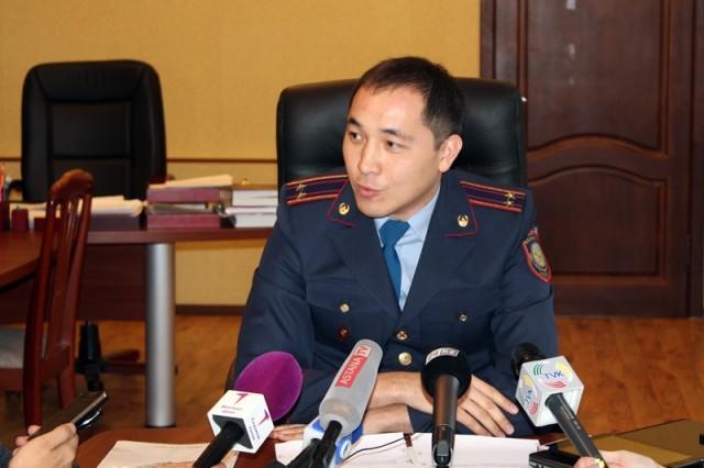 Әл Фараби полиция бөлімінің бастығы - Данияр Мейірхан