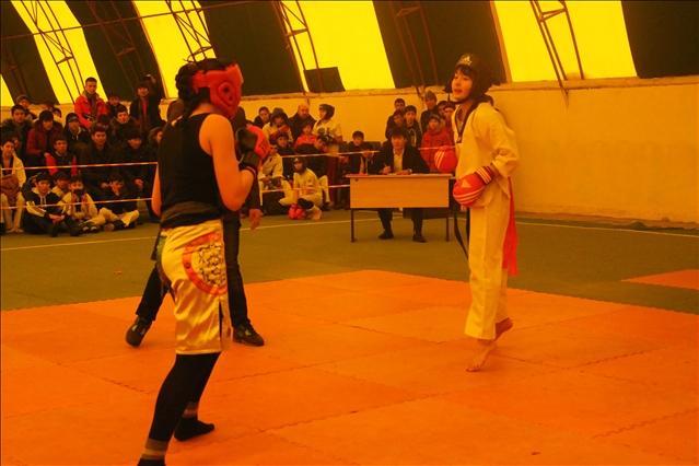 Жібек Тұрғынбекова өзінен салмағы ауыр, бойы да ұзын қарсыласпен кездесті