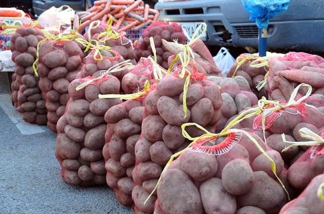 Картоптың 1-келісі 55 теңгеден сатылды