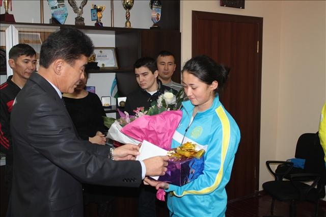 Жанбота Алдабергенова да болашағынан үміт күттірер спортшы