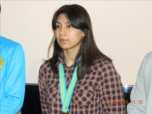 Перизат Қадырбекова ел тарихында алғаш рет қазақ күресінен чемпион атанған бойжеткен