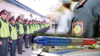 Жол жүру ережесін бұзған 86 полиция қызметкеріне шара көріліп, 23 автокөлік айыппұл тұрағына қойылған.