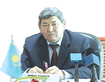 Анарбек ОРМАН,  «Су ресурстары – Маркетинг» ЖШС-нің  бас директоры