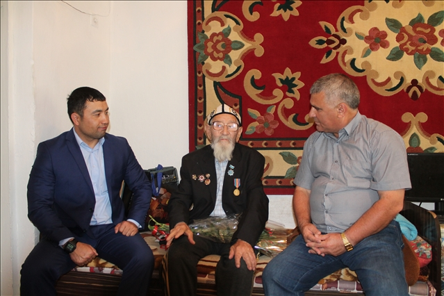 Ардагер Қаныбек Ералиевпен бірге