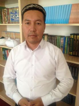 Шымкент қаласындағы А. Қаттани мешітінің найб-имамы Амантай Садиев