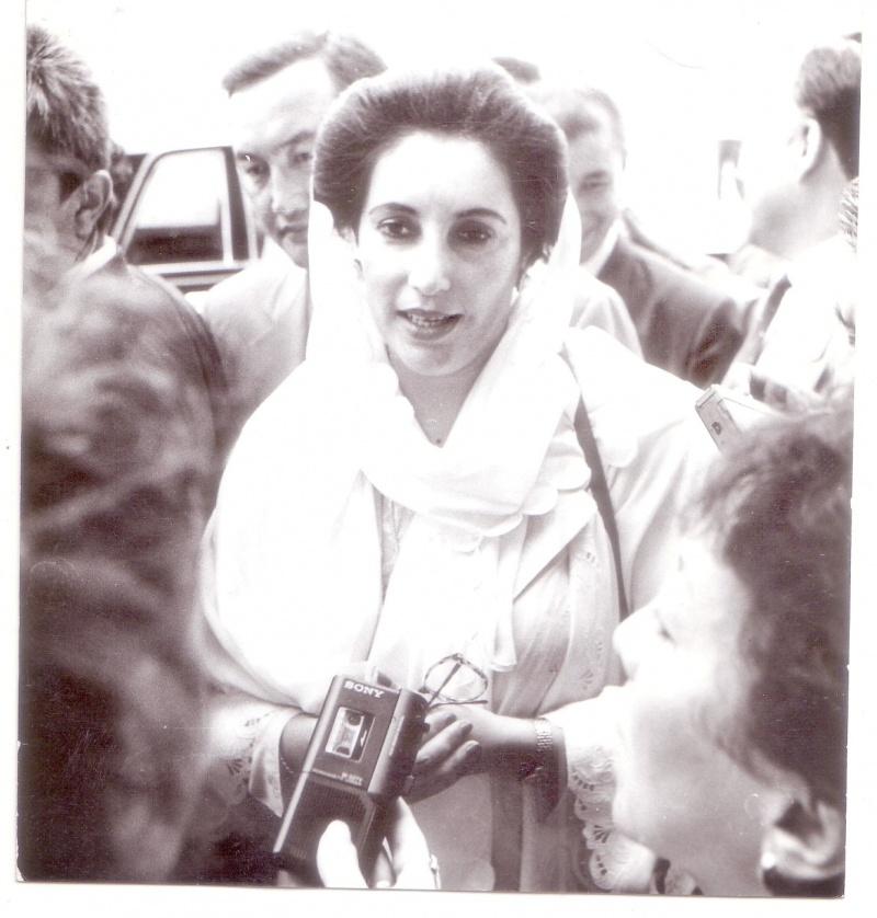 Пакістанның бұрынғы премьер министрі Беназир Бхутто Шымкентке келгенде