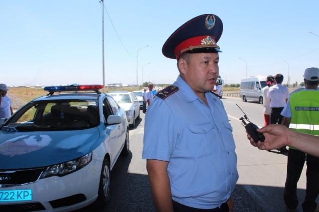ОҚО ІІД ӘКБ бастығының орынбасары Алмасхан Тастанбеков
