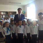 Қала әкімі Көкбұлақтағы мектептің ашылуына қатысты