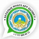 Әкімдіктің «WhatsApp» қызметіне 1 айда 829 арыз түскен