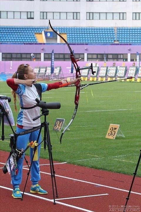 Садақпен атудан Луиза Сайдиеваның ендігі мақсаты Олимпиада жүлдесі