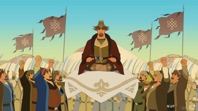 """Шымкенттік мамандар алғашқы """"Қазақ елі"""" тарихи мультфильмін ұсынды"""