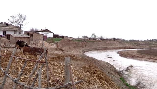 Келес өзенінің арнасы ауыстырылды