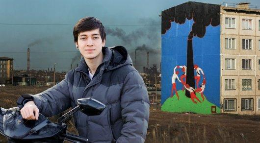 Теміртаулық граффити суретшісі Павел Касты Шымкент әкімдігі шақырады