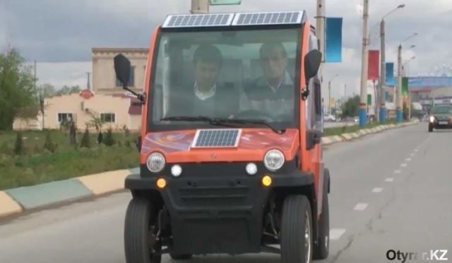 Түркістанның оқытушысы электрмобиль құрастырды