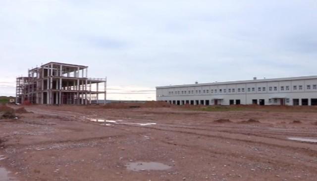 Логистика орталығының құрылысы тоқтап тұр