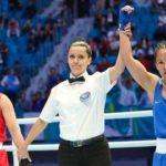 Күнгейлік боксшы Жайна Шекербекова облыс қоржынына олимпиадалық жолдама салды