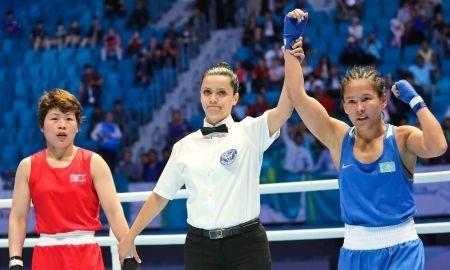 Жайна Әлем чемпионатының алтын медалінен дәмелі