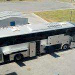 Облыс әкімі қазақ драма театрына автобус сыйлады