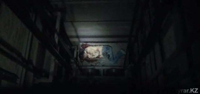 Шымкентте жас жігіт лифт шахтасына құлап қалды