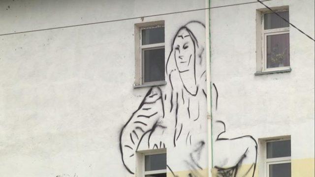 Шымкенттің үйлері граффитимен сәнделді