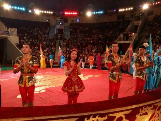 """""""Оңтүстік цирк"""" - халықаралық фестивальдің күміс жүлдегері"""