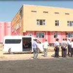 Комиссия Сарыағаштағы мектеп құрылысынан кемшіліктер тапты