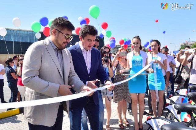 Шымкентте «Shymkent Bike» велостанциясы ашылды