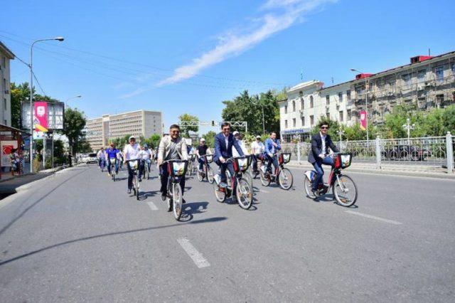 Шымкент - Қазақстандағы веложоба орнатылған екінші қала