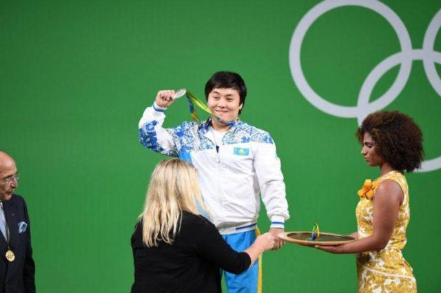 Жазира Жаппарқұл - Олимпиаданың күміс жүлдегері