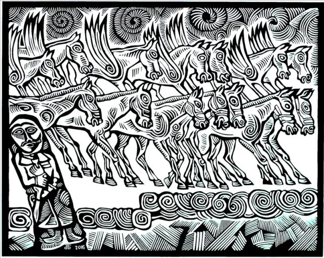 Қырғыстандағы алғашқы қазақ суретшісінің жеке көрмесі