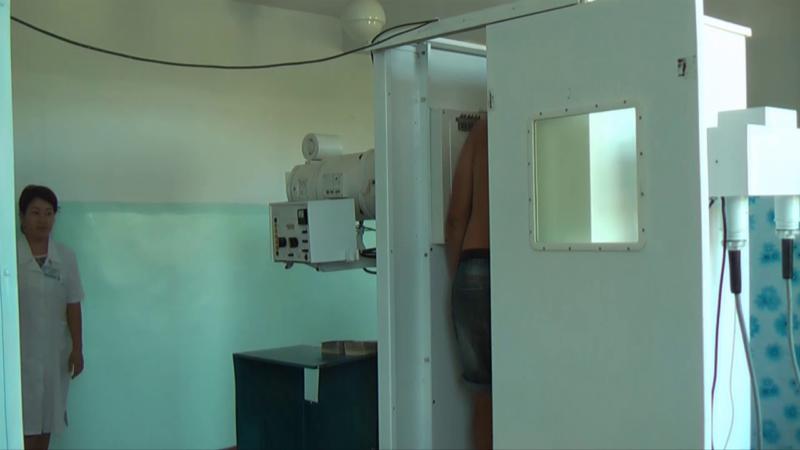 Қазығұрттағы орталық емханада үш флюорография аппараты іске қосылды