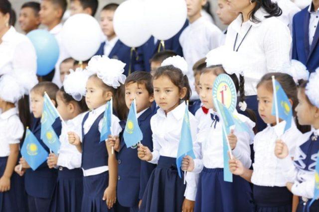 Биыл Оңтүстікте 73 000-нан астам оқушы 1 сыныпқа барады