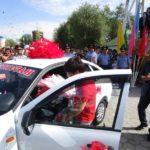 Түркістандықтар Жазираға темір «тұлпар» мінгізді