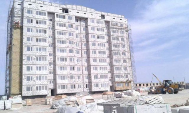 Түркістан азаматтары жаңа үйлерден пәтер алады