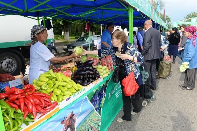 Павлодарда Оңтүстіктің ауыл шаруашылығы жәрмеңкесі өтті