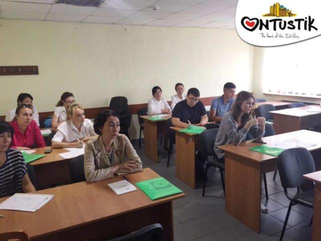 Шымкентте туризм саласы бойынша семинар-тренинг басталды