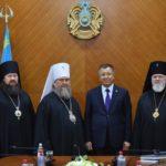 ОҚО әкімі Астана және Қазақстан митрополитімен кездесті