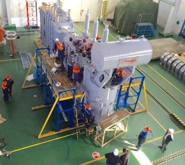 Кентауда 10 ауданды электр энергиясымен қамти алатын трансформатор құрастырылып шығарылды