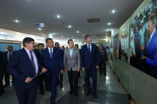 Астанада Оңтүстік тауар өндірушілерінің көрмесі өтті