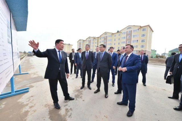 Ерболат Досаев Оңтүстіктегі өнеркәсіп орындарын аралады