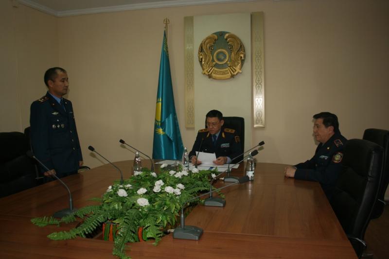 ОҚО қылмыстық-атқару жүйесі департаментінің басшысы тағайындалды