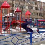 Еңбекші ауданында балалар алаңшалары ашылды